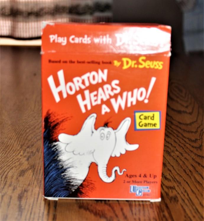 Dr Seuss HORTON HEARS A WHO! Card Game