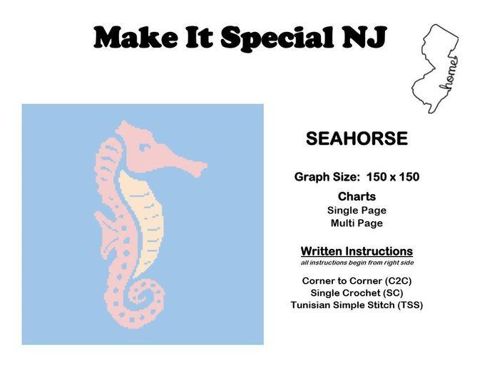 Seahorse in Pastels