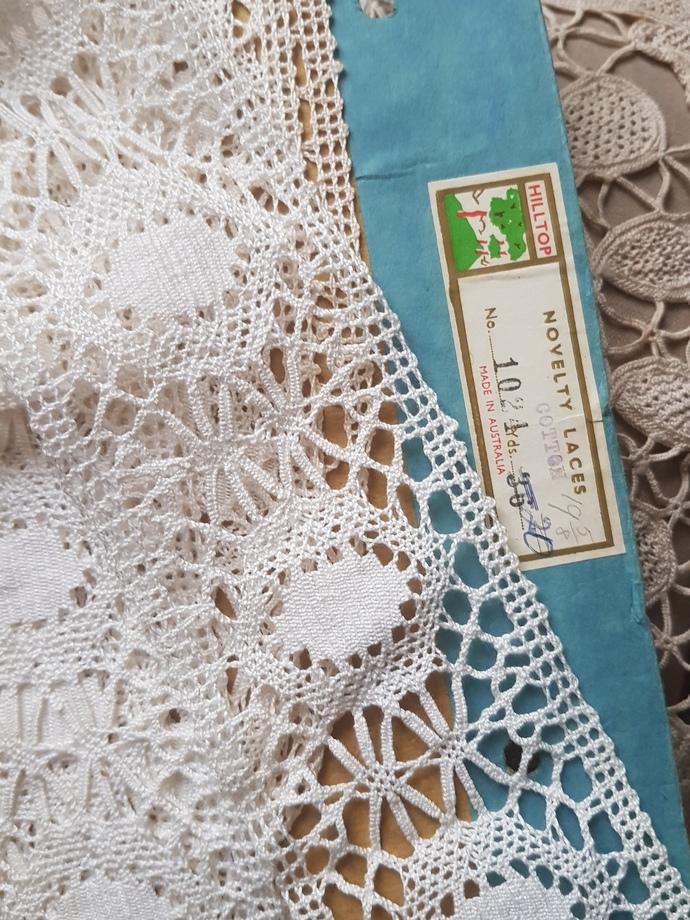 Hilltop cotton lace