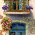 Romantic Door Cross Stitch Pattern - Instant Digital Downloadable Pattern