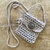 Weaver Spirit Pouch - hand crocheted with love and healing
