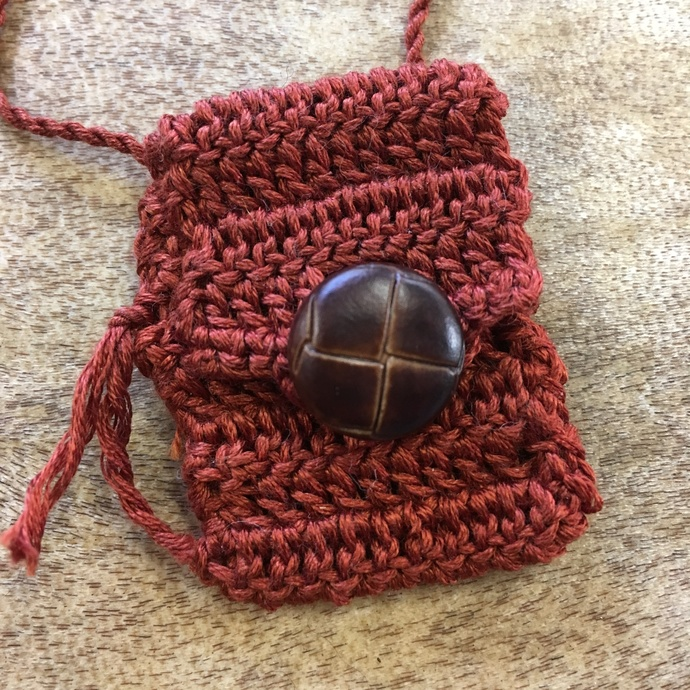 Leathered - A Handcrafted Spirit Pouch