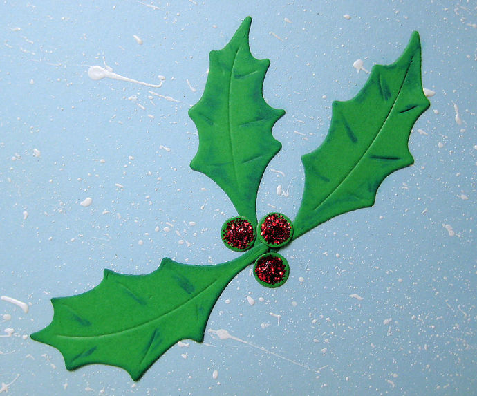 Small Holly Leaves and Berry Cutting Dies