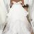 Sweetheart White Ruffles Floor Length Bridal Gown Wedding Dresses