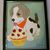 Cupcake Puppy Acryic Painting for Kids, Wall Hanging, 8x10 Canvas Board Acrylic