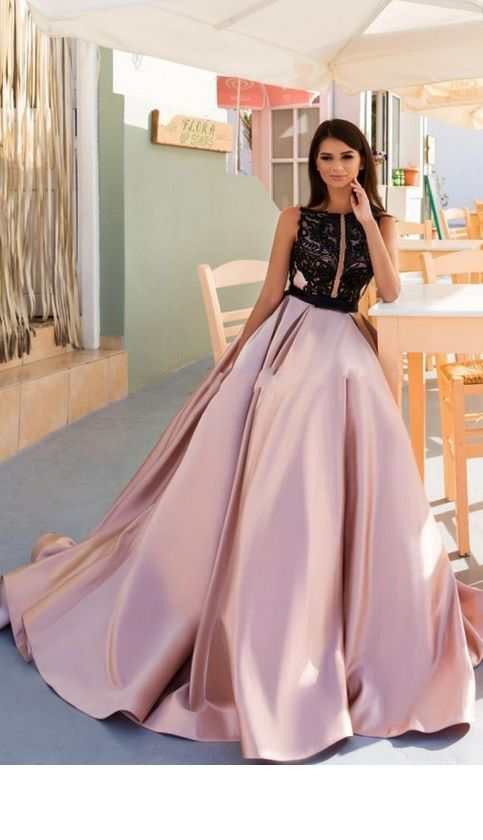 Sweetheart Neck Ball Gown Prom Dress, Appliques Beaded Prom Dresses, Long