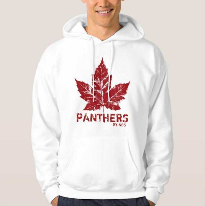 PANTHERS BY NBS  american Men's Basic Hooded Sweat-shirt