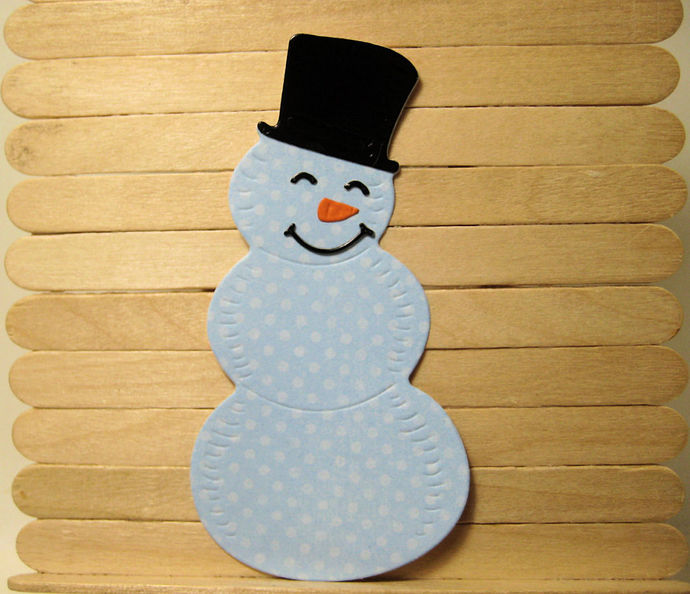 Smiling Snowman Metal Cutting Die Set