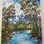 "Oil Painting Print, 8.5x11"", Autumn on the Mountain print, Landscape Print,"