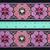 5cm x 1 m • Pink/White Traditional Hmong Pattern Fabric Trim Ribbon