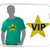 Machine Embroidery Design Star VIP Very Important Person 7 Sizes