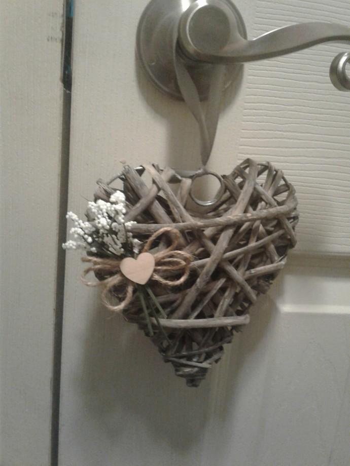 Heart Wreath/Door Hanger