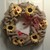 Berlap Wreath with Sunflowers and Cardinal
