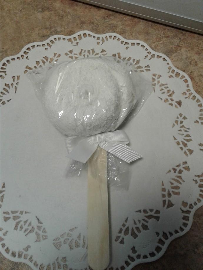 Washcloth Lollipop