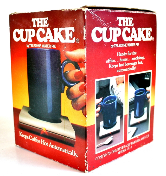 Cup Cake Mug Warmer with Original Magnetic Mug and Box (used)