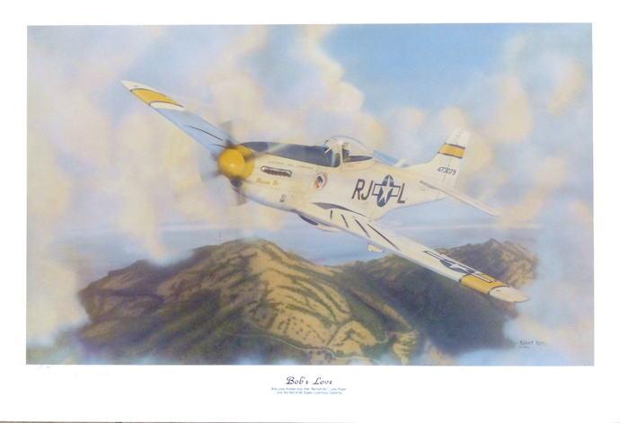 "P-51D / Mustang ""Bob's Love"" - Ltd Ed Lithograph"