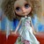 "Blythe  Pullip Doll -- A RARE PIECE --""Katie""   hand worked linen"