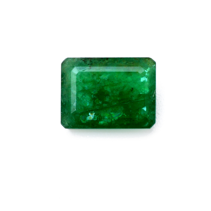 Natural Brazilian Emerald Precious 8 x 6 mm Octagon Emerald Cut Loose Gemstone