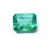 Brazilian Emerald Precious Faceted 8 x 6 mm Octagon Loose Gemstone.