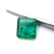 Brazilian Emerald Precious 6.7 x 6.70 mm Square Octagon Loose Gemstone.