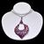 Amazing ! 925 Sterling Silver Ruby Tanzanite Diamond Semi Precious Pendant