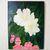 "Painting Print, 8.5x11"", ""Azaleas"", Giclée Floral Painting Print, Flower Print,"