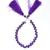 Beautiful !! Amethyst Semi Precious Faceted Heartshape 5mm  Beads single strand
