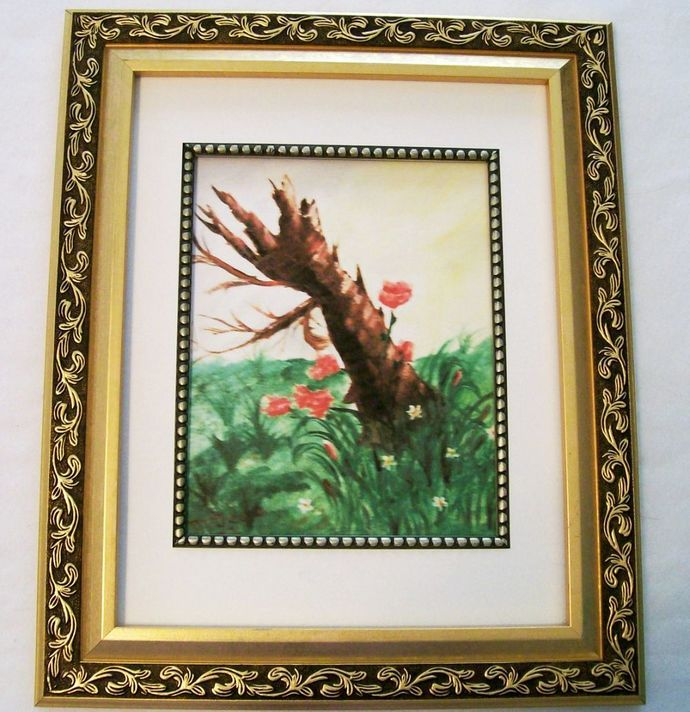 "Oil Painting Print, 8.5x11"", ""After the Storm"", Giclée Painting Print, Landscape"