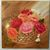 """Floral Oil Painting, Original Painting, 18x18"""" Painting, Flowers, """"Basket of"""