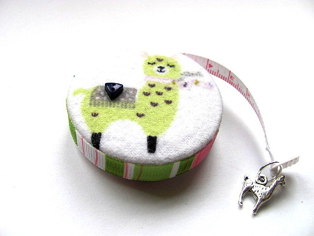 Tape Measure Colored Llamas Retractable Measuring Tape