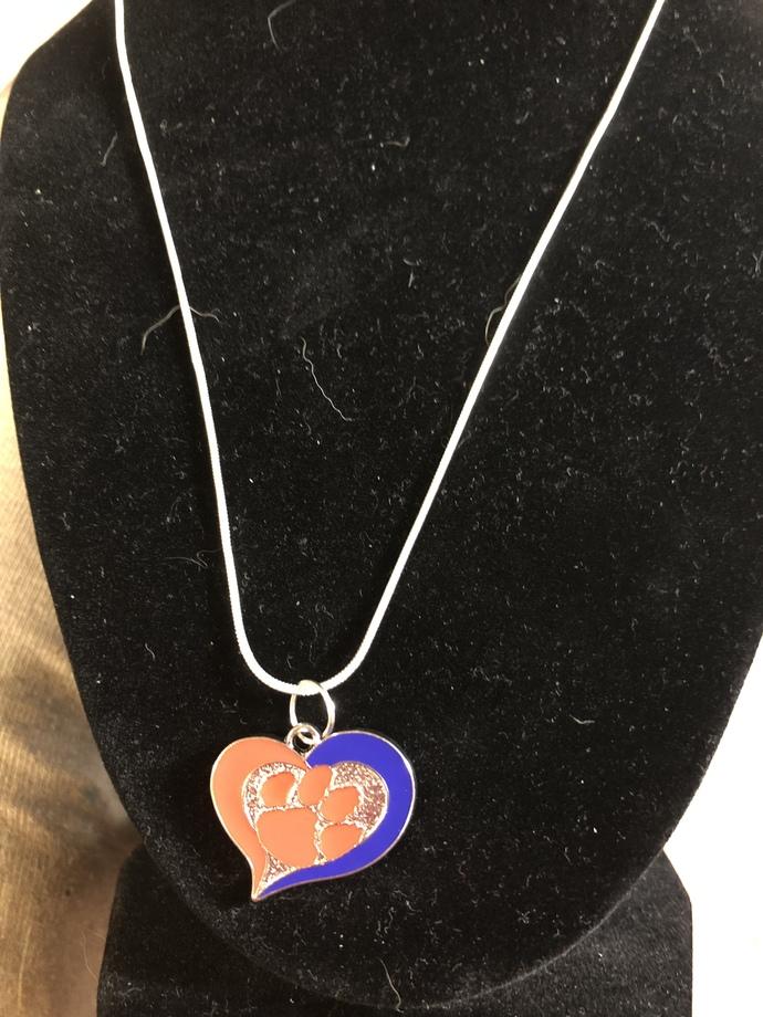Clemson Tigers Necklace