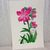 Pink Floral Watercolor Painting, OriginalFlower Painting, 12x18 Painting,