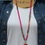 Mexican Laguna Lace Long Beaded Necklace with Pendant Bohemian Jewelry Elegant