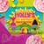 Trolls Inspired Scrapbook style Birthday Party Invitation: Digital File