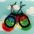 Hemp Leaf Bag in Rainbow Stripes