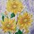 """Watercolor Painting, Original Painting, Floral """"A Trio of Sunflowers"""", 11x15"""