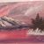 "2 Oil Paintings, "" Lonesome Mountain"", 11x14"" painting, Mountain Painting,"
