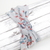 Adult Celtic Knot Headband - Heathered Gray Floral