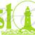 Coast Life Vinyl Decal with Lighthouse Sticker Beach Island Ocean Sea Bay