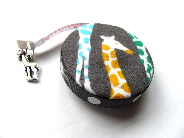 Tape Measure Colored Giraffes Retractable Tape Measure
