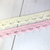 Cotton Laces Trims  - White, Cream, Pink