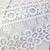 Lace Dangle Tussle Fringe Floral Applique Lace Trim - 4 inch White
