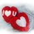 Heart love Cushion Pillow - Filled Pillow - Washable - valentine's day gift -
