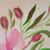 """Floral Oil Painting, 8x10 Painting, """"Pink Southern Roses"""", Original Flower Small"""