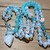 Moon Wisdom Long Beaded Necklace with Pendant Hand Knot Bohemian Glam Jewelry by