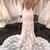 See Though Lace Appliques Mermaid Wedding Dress Vestido de novia