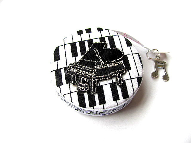Tape Measure Piano Keys and Notes Retractable Measuring Tape