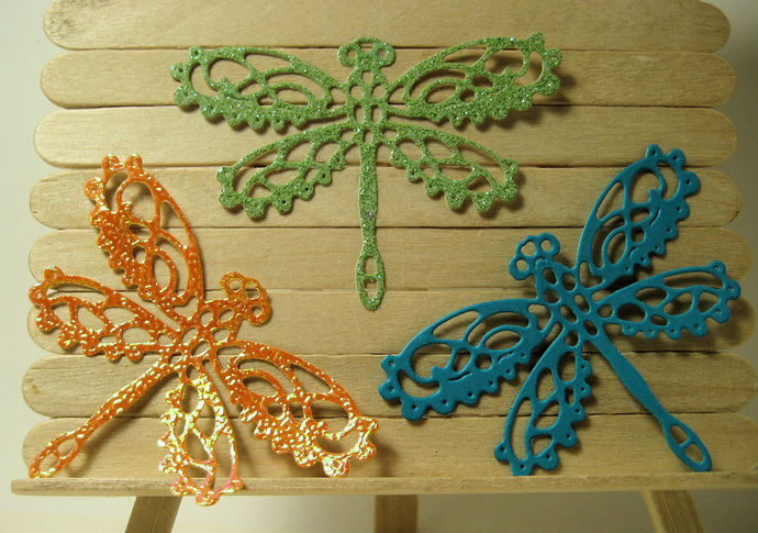 Fancy Dragonfly Metal Cutting Die Style #3
