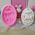 3D Carousel Horse Paris French Shabby Chic Cameo Silicone Mold Mould - Pink