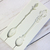 3D Spoon Shabby Chic Silicone Mold Mould - White